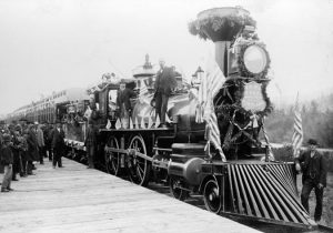 C0857-First-train-over-last-spike-Villard-Gold-Spike-Excursion-Northern-Pacific-Railroad