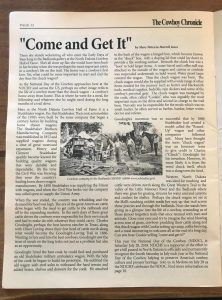 chuckwagon article